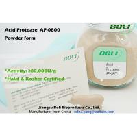 Boli Powder Acid Protease AP-0800 Activity 80000 U / g Hydrolysis of Proteins Free Sample Available Manufactures