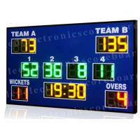 High Brightness Cricket Score Board , Led Electronic Scoreboard Outdoor Type Manufactures