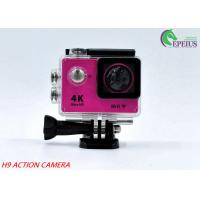 30M Waterproof 4k Sports Action Camera Original H9 170 Degree With USB 2.0 Manufactures