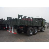 Heavy Army Transport Truck , 6x6 HW76 Cab One Sleeper Military Cargo Truck Manufactures