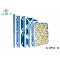 Pleated Hvac Air Filters G3 G4 Merv 8 For Industrial / Commerical Application Manufactures