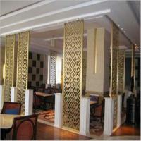 Mirror titanium stainless steel wall panels decorative color screen metal 304 grade Manufactures