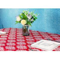 China Wedding / Birthdays Disposable Table Cloths , Printed Disposable Table Covers on sale
