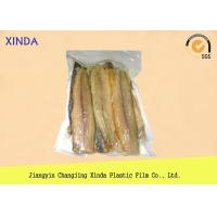 Eco Frozen Fish 3 Side Sealed Vacuum Pack Storage Bags With Exquisite Gravure Printing Manufactures
