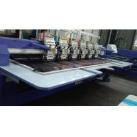 Low Vibration Commercial Embroidery Sewing Machine With Automatic Color Changing / Trimming Manufactures