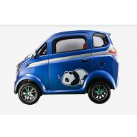 60 V Mini Electric Car With Disc Brake Steering Wheel 350 Kg Easy Operation Manufactures