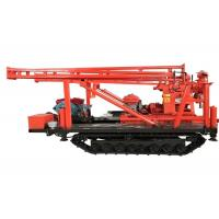 Underground Diamond Core Portable Well Drilling Rig Drill Depth 300m Diesel / Motor Power Type Manufactures