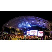 High Load Silver Modern And Strong Aluminum Stage Truss System 12m Length For Outside Show Events Manufactures