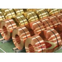 Thin Insulated Electrolytic Copper Foil Roll , Copper Sheet Metal Manufactures