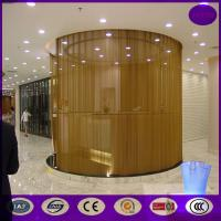 China Aluminum chain door fly screen/chain link type door csreen curtain made in china on sale