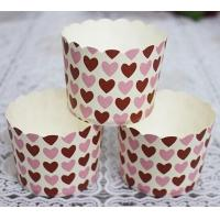 lovely design baking muffin cup/Sweet Heart baking cups for Bakery wholesale