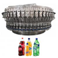 High Speed Automatic Bottle Filling Machine Fizzy Drink , Sparkling Water Packaging Manufactures