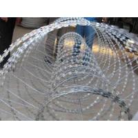 Building / Yard Security Barbed Wire Fencing Sun Resistant Neat Appearance Manufactures