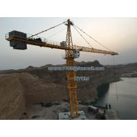 70M Arm Booom 20tons Load TC7050 Hammerhead Crane Tower 5m Mast Section Manufactures