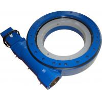 Buy cheap Heavy Duty HSE Series Slewing Ring Bearing Worm Drive For Crane Machinery or Solar Tracker from wholesalers
