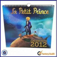Buy cheap Calendar printing from wholesalers