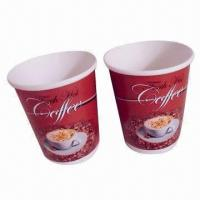 Hot Drink Disposable Paper Cups with Double-wall Construction, Printed, 6oz Manufactures