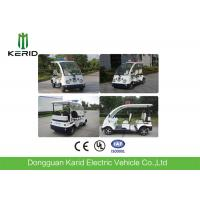 Small Street Legal Electric Security Patrol Vehicles 4 Passengers Four Wheeler Manufactures