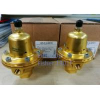6000psi Fisher Controls Propane Regulator  1301F High Accuracy For Compression Manufactures