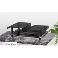 Hot bending glass/tempered glass tea table/coffee table C-112(black) Manufactures