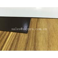 PVC Lamination Rubber Sheeting Roll 0.2mm - 10 Mm Thick , 1300mm Max Width