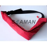 110N Manual Waist Bag Inflatable Life Belt PFD For Swimming , Boating , Sailing Manufactures