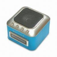 Portable Speaker with Metal Housing, Supports SD Card, Mobile Phone, iPod, Computer and MP3 Player Manufactures