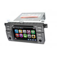 BMW E46 Car Touch Screen GPS Bluetooth DVD Player with Windows CE 6.0 / ISDB-T / RDS Manufactures
