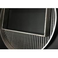 390 Mm Diameter Wedge Wire Screen Filter Mesh With High Precision Filtering Slot