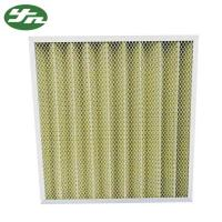 Folded Plate Pocket Air Filter F8 Medium Efficiency For Primary Filtration System Manufactures