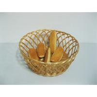 Colorful Flower Hollow PP Rattan Bread Baskets Washable For Restaurant Manufactures