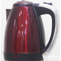 Stainless Steel Red Electric Water Boiler Kettle / Portable Electric Kettle Manufactures