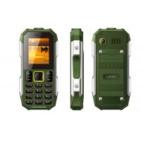Outdoor Travel Waterproof Rugged Phone 0.08MP Camera With Big Battery 2500mAh Manufactures