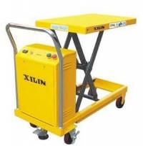 walking scraper hydraulic scissor lift table