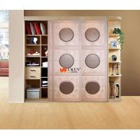 Kitchen Plastic Remote Control Leather Sliding Door With Aluminum Track w650-1000mm Manufactures