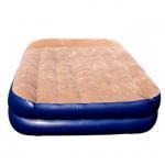 PVC Flocking Inflatable Air Beds Mattress Manufactures