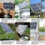 Solar pool pump useimported bearing solar system for irrigation pumps 12v 24v 48v solar dc magnetic generator pump Manufactures