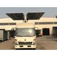 Sinotruk HOWO Small Cargo Truck 6*4 2 Tons Wingspan Truck for Transporting Cargo Manufactures