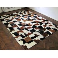 Luxury Cow Leather Carpert Rug Of Animal Hide&Skin For Home Decor Manufactures