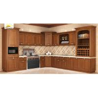China Double Overall Shelf American Style Kitchen Cabinets / Kitchen Base Cabinets on sale