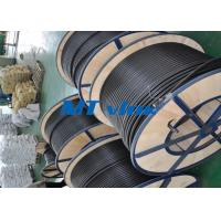 China ASTM A269 S30403 / S31603 Stainless Steel Welded Tube Coiled Stainless Tubing on sale