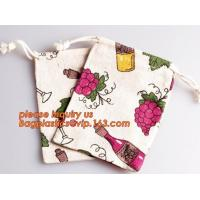 Small Boutiques Packaging Christmas Canvas Cotton Drawstring Bag For Gift,Market String Net Bag Kitchen Fruits Vegetable Manufactures