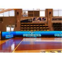 China HD P6 Indoor Full Color LED Perimeter Advertising Boards For Basketball Ground on sale
