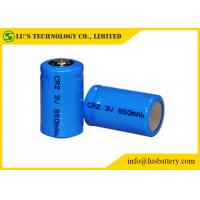 CR2 3 Volt Lithium Battery / Lithium Primary Battery Low Self Discharge Rate Manufactures