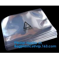 China Plastic ESD Shielding Packing Ziplock Esd Packing Moisture-Barrier Aluminium Bag,PCB Packing ESD Shielding bags ESD alum on sale