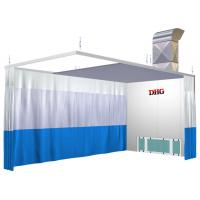 Spray Booth Prep Stations / 6KW 380V Preparation Station For Car Manufactures