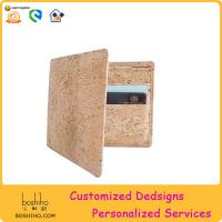 Buy cheap BOSHIHO 2015 cork wallet Bifold Wallet eco friendly wallet from wholesalers