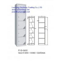 Five door steel locker FYD-G005,H1850XW380XD450mm with hinging and vent hole Manufactures