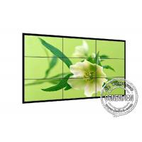 1.8mm 4K LCD Screen Wall 700cd / m2 , Industrial Grade DID Video Wall 2*2 Sound Media Player Manufactures