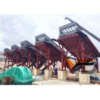 Stationary / Fixed Concrete Crushing Plant High Degree Of Automatic Operation Manufactures